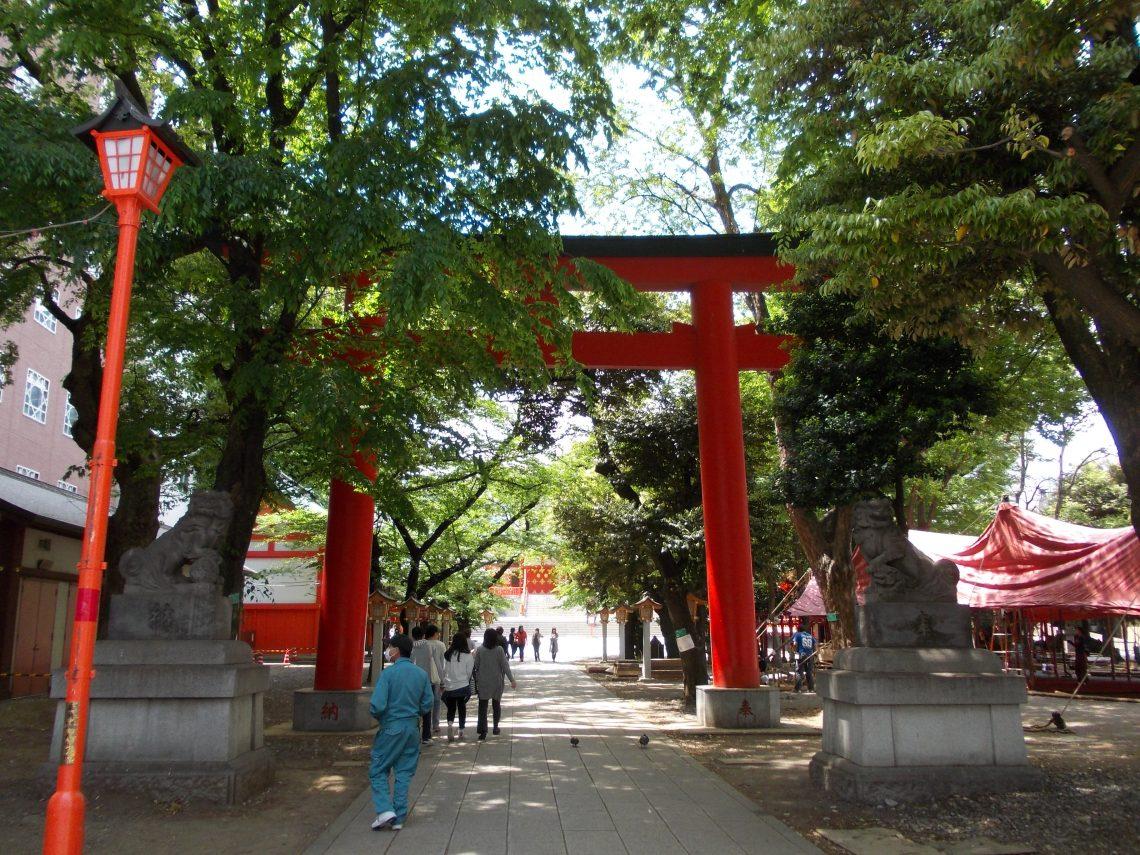 Tokyo – Hanazono Schrein